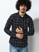 ブロード総柄シャツ