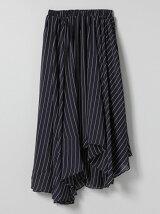 スーパーフレアアシンメトリースカート