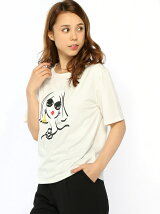 フェイスプリントTシャツ