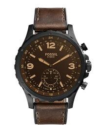 FOSSIL Q (M)【ハイブリッドスマートウォッチ】 NATE HYBRID SMARTWATCH FTW1159 フォッシル ファッショングッズ 腕時計 ブラック【送料無料】
