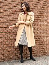 【美しい贅沢カシミヤコレクション】カシミヤロングラップコート