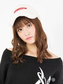 【SALE/17%OFF】CECIL McBEE 【コカ・コーラコラボ】CAP セシルマクビー 帽子/ヘア小物 キャップ ホワイト レッド ブラック