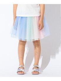 【SALE/20%OFF】【KIDS】グラデーションチュールスカート エニィファム スカート【RBA_S】【RBA_E】