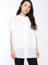 (W)ドットマオカラーシャツ・ブラウスDDF3