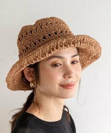 【SALE/33%OFF】coen レースこま編みハット コーエン 帽子/ヘア小物 ハット ブラウン ブラック ホワイト