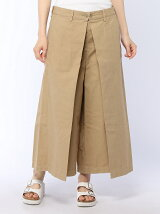 タックツイルスカートパンツ