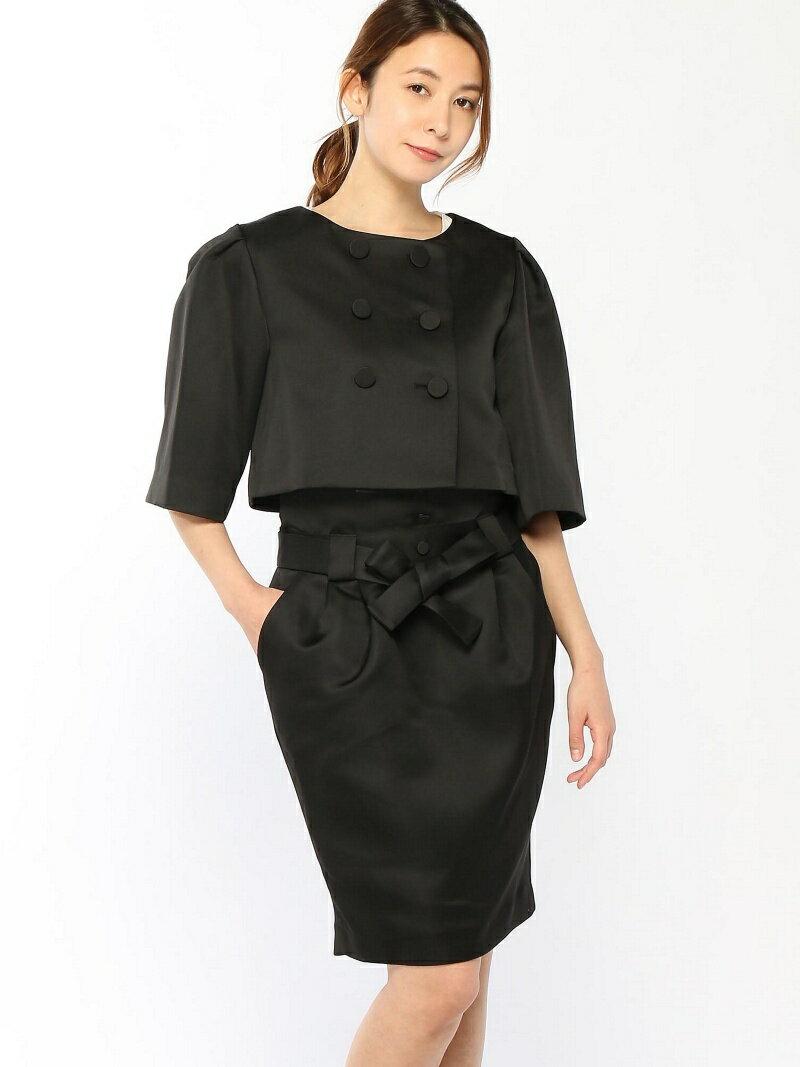 【SALE/43%OFF】Dress Lab Dress Lab/ボレロ風JKスカートスーツ クリーム ビジネス/フォーマル【RBA_S】【RBA_E】【送料無料】