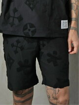 GA JACQUARD PATTERNED SHORTS