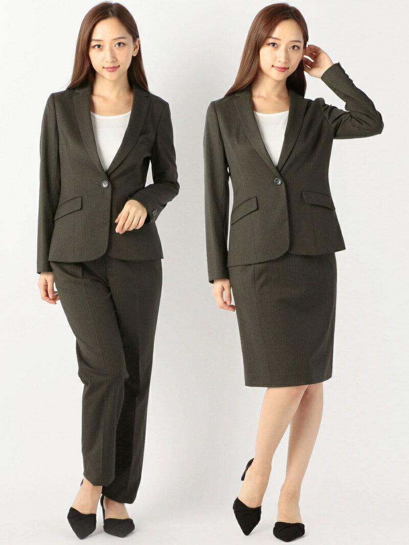 MEW'S REFINED CLOTHES ストレッチストライプスーツ《入学式/卒業式/フォーマル/セレモニー》 ミューズ リファインド クローズ ビジネス/フォーマル【送料無料】