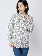(W)カモフラージュプリントシャツ