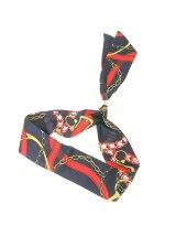 スカーフリング付リボンスカーフ