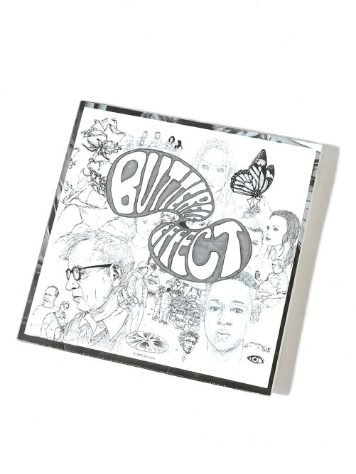 ACACIAS RECORDS BUTTERFLY EFFECT-flat circle