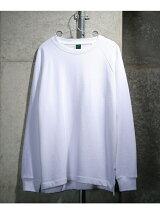 ビッグシルエット ラグランロングTシャツ