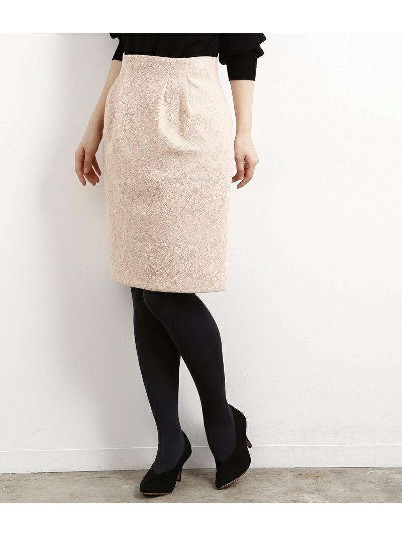 【SALE/30%OFF】ROPE' PICNIC レースボンディングタイトスカート ロペピクニック スカート【RBA_S】【RBA_E】