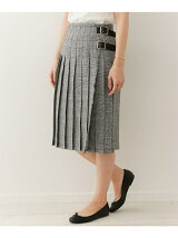 O'NEIL OF DUBLIN 別注LINEN PLEATS SKIRT