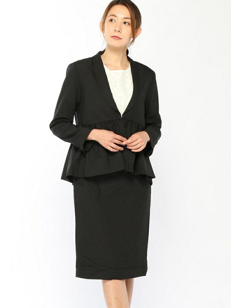 【SALE/43%OFF】Dress Lab Dress Lab/フレアヘムジャケットスカートスーツ クリーム ビジネス/フォーマル【RBA_S】【RBA_E】【送料無料】