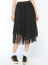 メッシュレイヤークレイジースカート