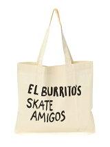 RESTAURANT / El Burritos Skate Amigos Tote bag
