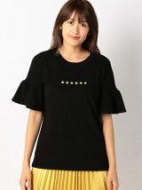 星刺繍T-シャツ