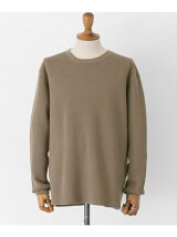 FREEMANS SPORTING CLUB JP WOOL WAFFLE LONG-SLEEVE