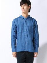 (M)フレンチリネンラージシャツ