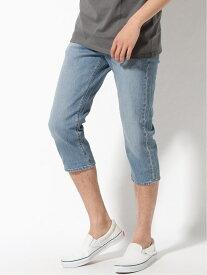 【SALE/40%OFF】Levi's LEVI'S/(M)505 COOL クロップドパンツ COOLMAX ジーンズメイト パンツ/ジーンズ クロップド/半端丈パンツ ブルー ベージュ ネイビー【送料無料】