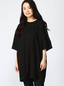 【SALE/30%OFF】Pledge 【6】Con Anima刺繍BIGTシャツ レアリゼ カットソー Tシャツ ブラック ホワイト【送料無料】