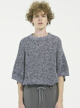 S/S LOOSE KNIT