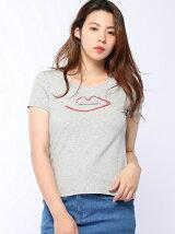 リッププリントTシャツ