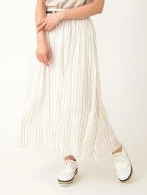 【SALE/29%OFF】a.g.plus 【ParkAve】スラブスカート エージープラス スカート スカートその他 ホワイト イエロー ネイビー グリーン ブラック