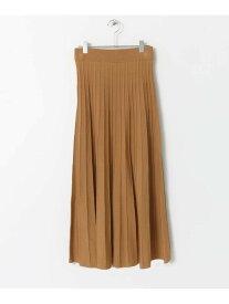 【SALE/33%OFF】ニットプリーツスカート センス オブ プレイス スカート【RBA_S】【RBA_E】【送料無料】
