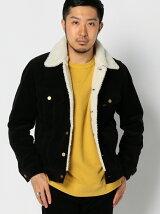 【予約】Lee × ビーミング by ビームス / 別注 2WAY コーデュロイ ボア ジャケット(セットアップ対応) BEAMS ビームス