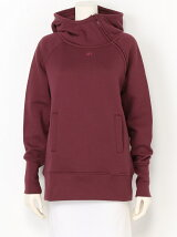 HOODED ZIP TOP