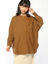 (W)ノーカラーBIGシャツ