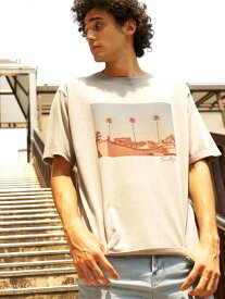 【SALE/13%OFF】BAYFLOW (M)フォトTSS ベイフロー カットソー Tシャツ ブラウン ピンク ホワイト