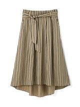 [WEB限定商品]マルチストライプフィッシュテールスカート