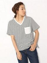ケーブル ポケット Tシャツ