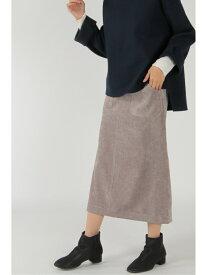 【SALE/50%OFF】ikka コールタイトスカート イッカ スカート ロングスカート ベージュ ブラック グリーン