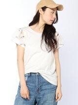 ショルダーリボンTシャツ