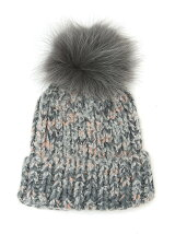 Fur Knit Cap
