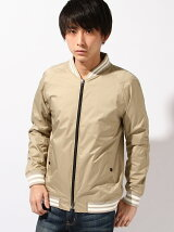 NYLON ZIP BASEBALL BLOUSON