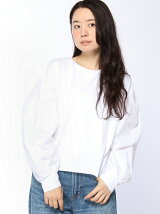 バルーンスリーブコンビTシャツ