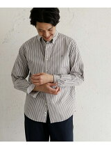 GYMPHLEX × DOORS 別注STRIPE LONG-SLEEVE SHIRTS
