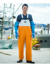 FISHERMAN JAPAN×URBAN RESEARCH サロペットパンツ