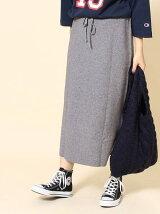 【WEB限定】ミラノリブニットタイトスカート
