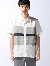 ヨコパネル半袖シャツ