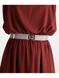 【SALE/50%OFF】ViS 30mm巾ラメゴムベルト ビス ファッショングッズ ベルト グレー ブラウン ベージュ