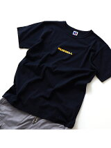 【RUSSELL別注】ロゴプリントT