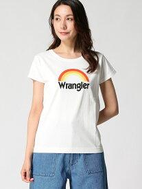 【SALE/25%OFF】(W)WRANGLER/レインボーT ベイフロー カットソー【RBA_S】【RBA_E】