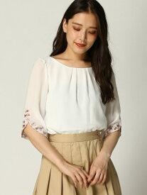 袖刺繍BL レッセパッセ シャツ/ブラウス【送料無料】